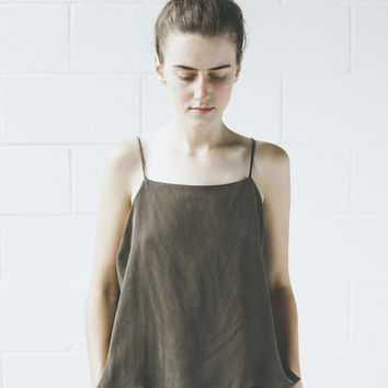 Objects Without Meaning - Cami in Olive