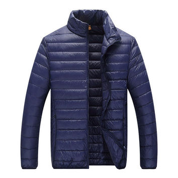 Classic Puffer Jacket Blue