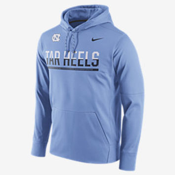 The Nike College Circuit Pullover (UNC) Men's Hoodie.