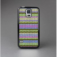 The Colorful Knit Pattern Skin-Sert Case for the Samsung Galaxy S5