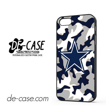 Cowboys Camo For Iphone 5 Iphone 5S Case Phone Case Gift Present YO