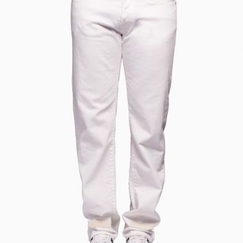 Denim pants from the S/S2016 Off-White c/o Virgil Abloh in white