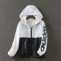 Fashion Hooded Sweatshirt Zipper Cardigan Coat Jacket