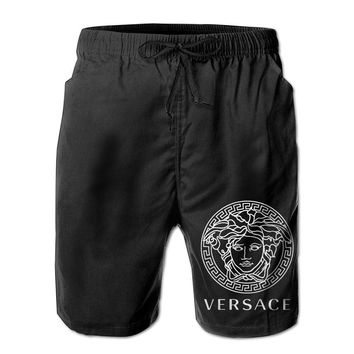 Versace Medusa Head Logo Mens Fashion Casual Beach Shorts