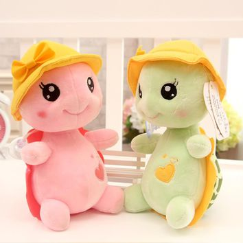 23cm Green Big Eyes Plush Tortoise Turtle Doll Toy Cute Soft Kids Baby Girl Boy Stufffed Plush Animal Toy Gift toys for children