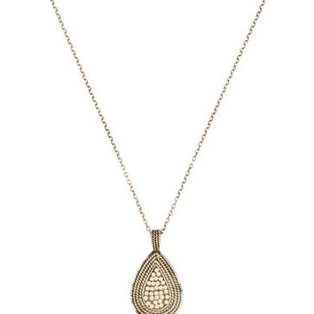 Anna Beck Lombok Divided Teardrop Necklace