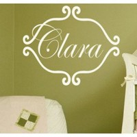Alphabet Garden Designs Princess Clara Wall Decal - child122