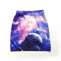 To The Moon Miniskirt from ShopWunderlust
