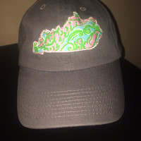 Lilly Pulitzer Kentucky hat