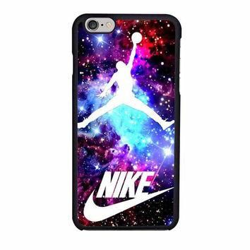 jordan nebula galaxy nike iphone 6 6s 4 4s 5 5s 6 plus cases