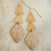 City Sketch Earrings [4585] - $12.00 : Vintage Inspired Clothing & Affordable Dresses, deloom | Modern. Vintage. Crafted.