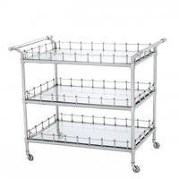 Nickel Bar Cart | Eichholtz Scarlett