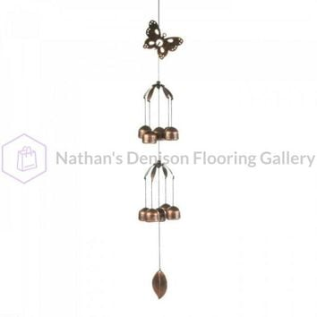 Butterfly Double Tier Bell Wind Chime