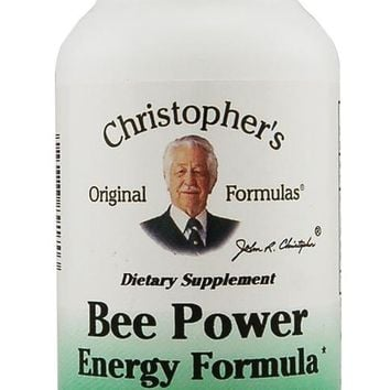 Christopher's Original Formulas Bee Power Energy Formula 450 mg 100