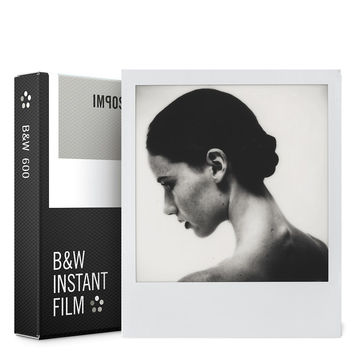 Impossible PRD4516 Polaroid 600 and Instant Lab Film Black/White Black & White
