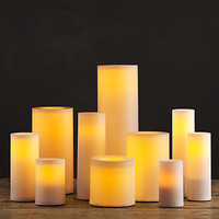 Remote Control Indoor/Outdoor Flameless Candles (Holiday Decor) | Restoration Hardware