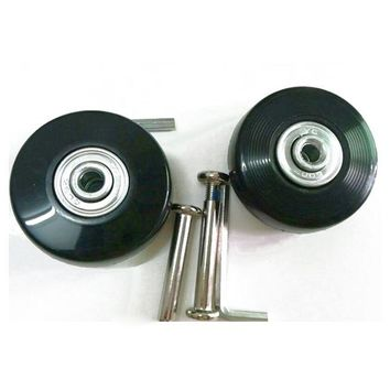 5) 2 Sets of Luggage Suitcase Replacement Wheels Axles Deluxe Repair Tool 50*20*6.1 mm