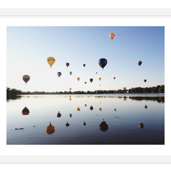 Kevin Russ, Hot Air Balloon Celebration, Photographs