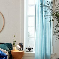 Microcheck Window Curtain | Urban Outfitters