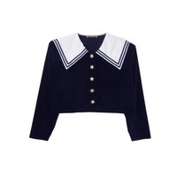 velour sailorblouse