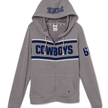 Dallas Cowboys Perfect Full-Zip - PINK - Victoria s Secret 2f0a8a9aa