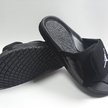 SPBEST Nike Jordan Slippers Black