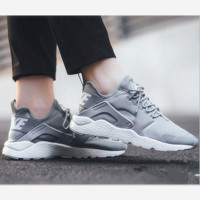 Nike Wmns Air Huarache Run Ultra Running sport shoes Grey