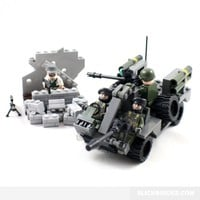 Light Assault Vehicle - Lego Compatible Army Model