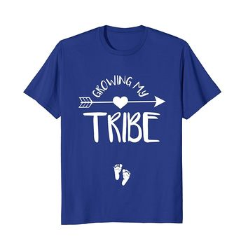 Growing My Tribe Shirt- Cute Pregnancy Announcement Gift