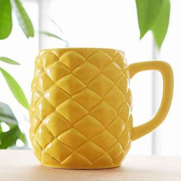 Pineapple Mug- Yellow One