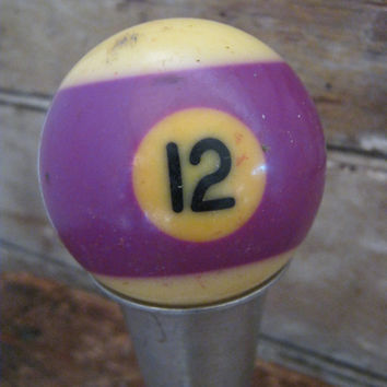 Vintage Billard Bakelite Pool Ball Number 12