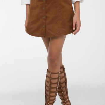 Piper Suede Skirt