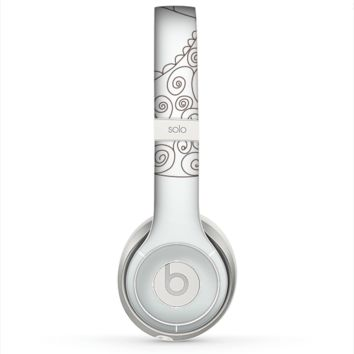 The Simple Vintage Bird on a String Skin for the Beats by Dre Solo 2 Headphones
