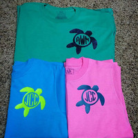 Turtle Monogram Shirt