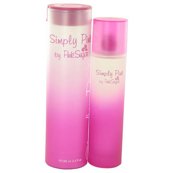 Simply Pink by Aquolina Eau De Toilette Spray 3.4 oz