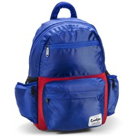 Smell Proof Fundamental Cookies Backpack in Blue & Red
