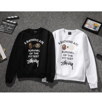 Couple Winter Thicken Pullover Hoodies [9269614343]