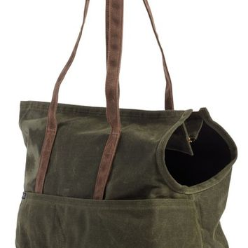 LoveThyBeast Large Waxed Canvas Pet Tote | Nordstrom