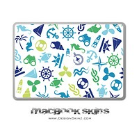 Anchors n' Such MacBook Skin