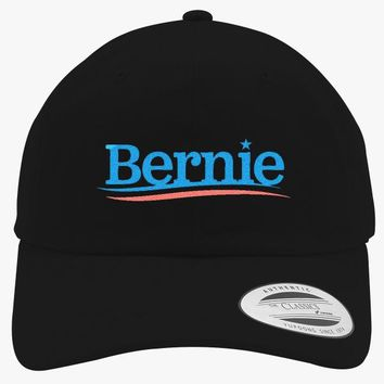 Bernie Sanders For President Embroidered Cotton Twill Hat