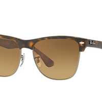 Ray-Ban CLUBMASTER OVERSIZED Tortoise, Polarized Lenses - RB4175 | Ray-Ban® USA