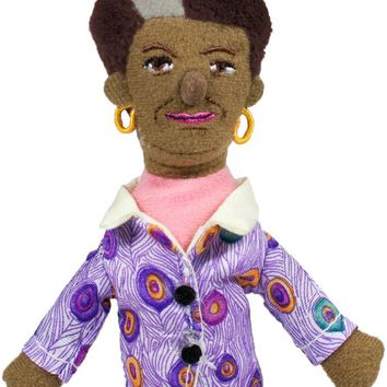 Maya Angelou Magnetic Personality Finger Puppet