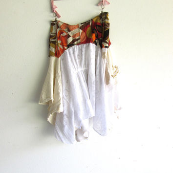 how to make a tattered pixie skirt