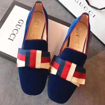 Gucci Women Fashion Simple  Casual Loafers  Shoes