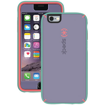 SPECK 73802-5195 iPhone(R) 6 Plus/6s Plus MightyShell(TM) Case (Heather Purple/Warning Orange/Aloe Green)