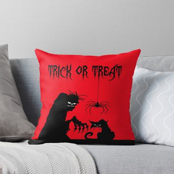 'Halloween' Throw Pillow by ValentinaHramov