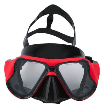 Waterproof Camera Mount Anti Fog Diving Mask Scuba Snorkel Swimming Goggles P5 Tempered Glass Silicone Strap Surfing Swim Tools
