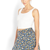 Rambling Rose Skater Skirt