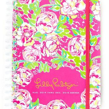 17 Month Large Agenda in Lilly Lovers by Lilly Pulitzer - FINAL SALE