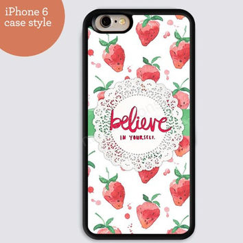 iphone 6 cover,believe monogram Strawberry iphone 6 plus,Feather IPhone 4,4s case,color IPhone 5s,vivid IPhone 5c,IPhone 5 case Waterproof 573